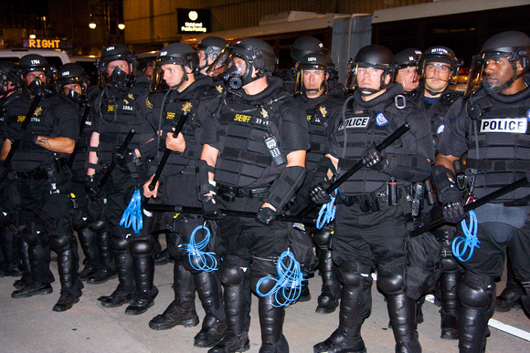 Police in Riot Gear 3