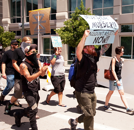 Anti-Police Brutality March